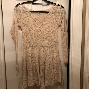 Lace free people dress!